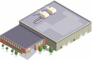warehouse-3d-illustration